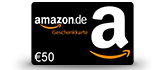 50 € Amazon Gutschein - goodie